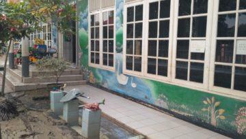 Bencana Banjir Di TK ADHYAKSA XXV Kota Bekasi