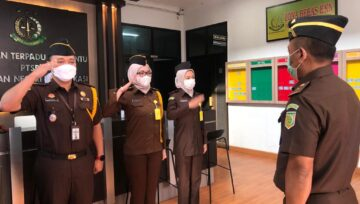 Inspeksi Umum Oleh Asisten Pengawasan di Kejaksaan Negeri Kota Bekasi